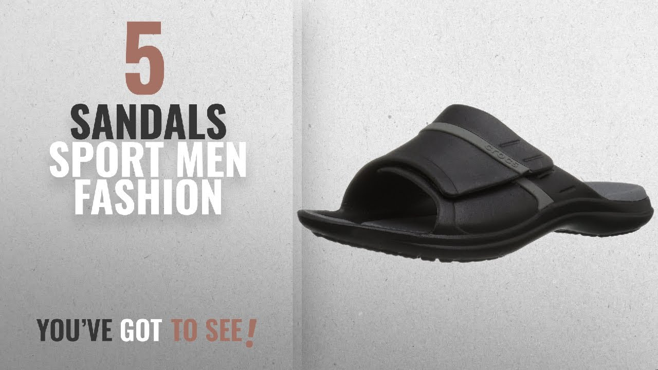 d2ba6e6b18e2 Top 10 Sandals Sport  Men Fashion Winter 2018    Crocs Unisex Modi Sport  Slide