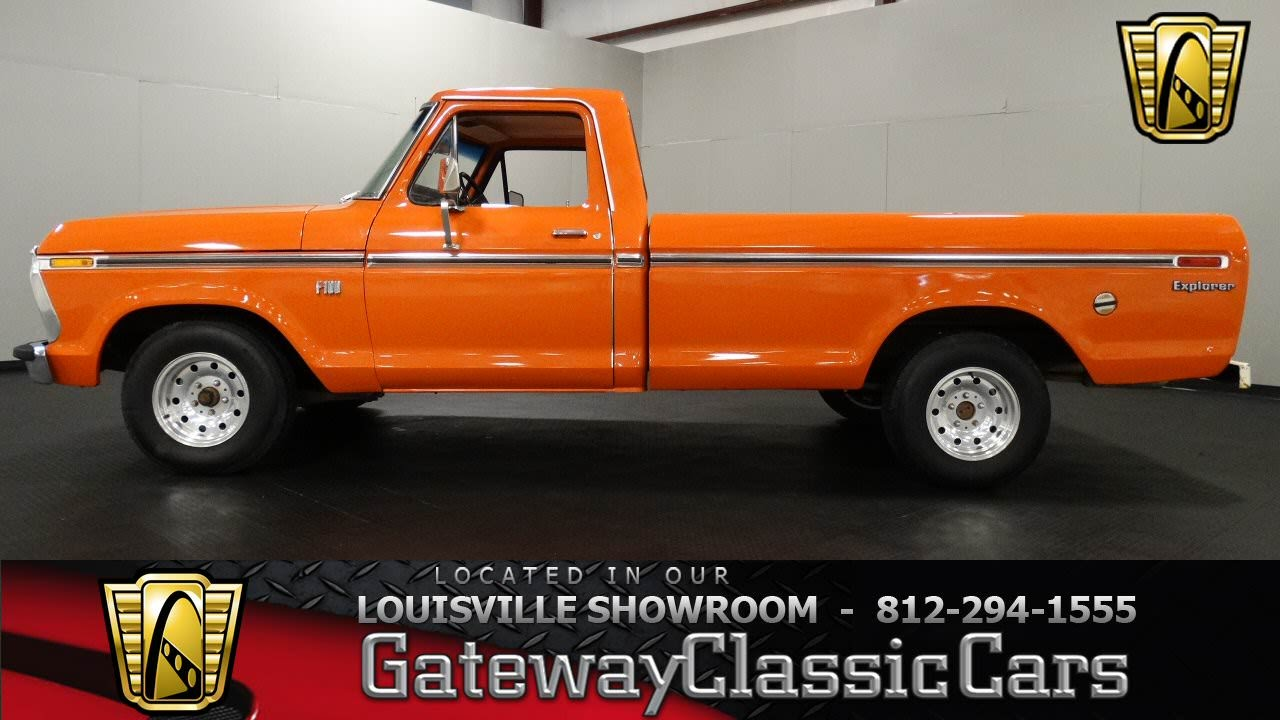 1973 ford f100 louisville showroom stock 1089 youtube. Black Bedroom Furniture Sets. Home Design Ideas