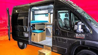 The 4-hour van build (seriously) | 2019 RAM Promaster camper kit by Wayfarer Vans