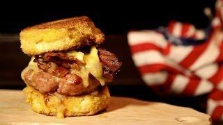 Heart Attack Burger - Bbq Grill Rezept Video - Die Grillshow 61