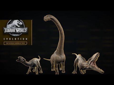 Jurassic World Evolution Cretaceous Dinosaur Pack |