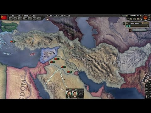 HEARTS OF IRON 4 TIMELAPSE (MAKING TURKEY GREAT AGAIN)