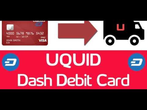 Uquid cryptocurrency bitcoin debit card