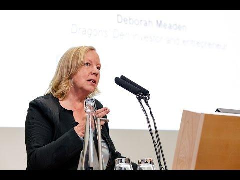 Inspiring Entrepreneurs Question Time: Deborah Meaden
