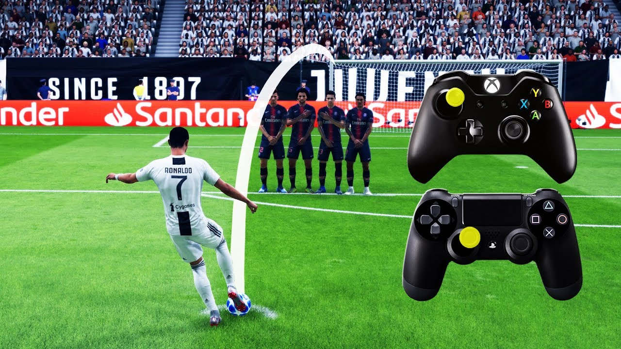 Fifa 19 Free Kick Tutorial Xbox Playstation 4k Ultra