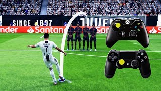 FIFA 19 FREE KICK TUTORIAL | Xbox & Playstation | 4K Ultra HD