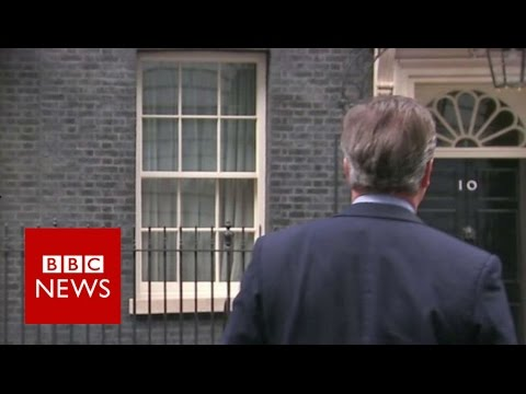 Leaving Downing Street: How previous PM's have come and gone - BBC News