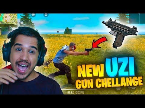New UZI Gun Challenge || Free Fire Advanced Server || Desi Gamers