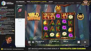 Casino Slots Live - 31/08/18 - High Roll + Cashout!