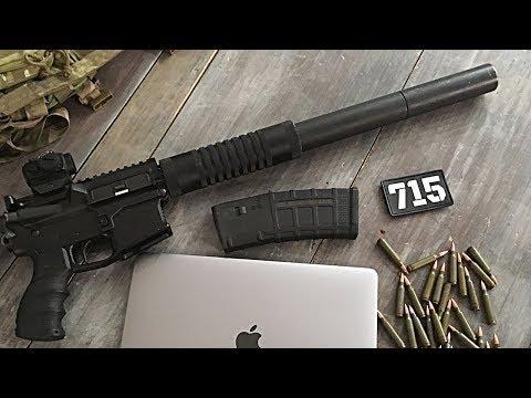 АС ВАЛ на базе AR-15!