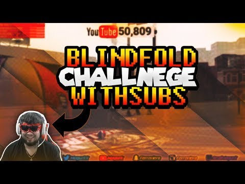 * Must Watch* NBA 2K18💢 99 Overall Magurk🔥💯 Blind Folded Challenge with subs Gone WRONG????