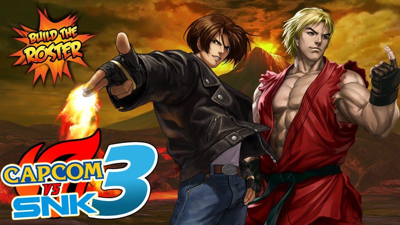 Capcom Vs SNK 3 - Build the Roster