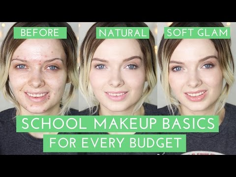 Acne Coverage // School Makeup Tutorial & Product recommendations! // MyPaleSkin