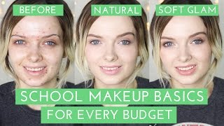 acne coverage school makeup tutorial product recommendations mypaleskin