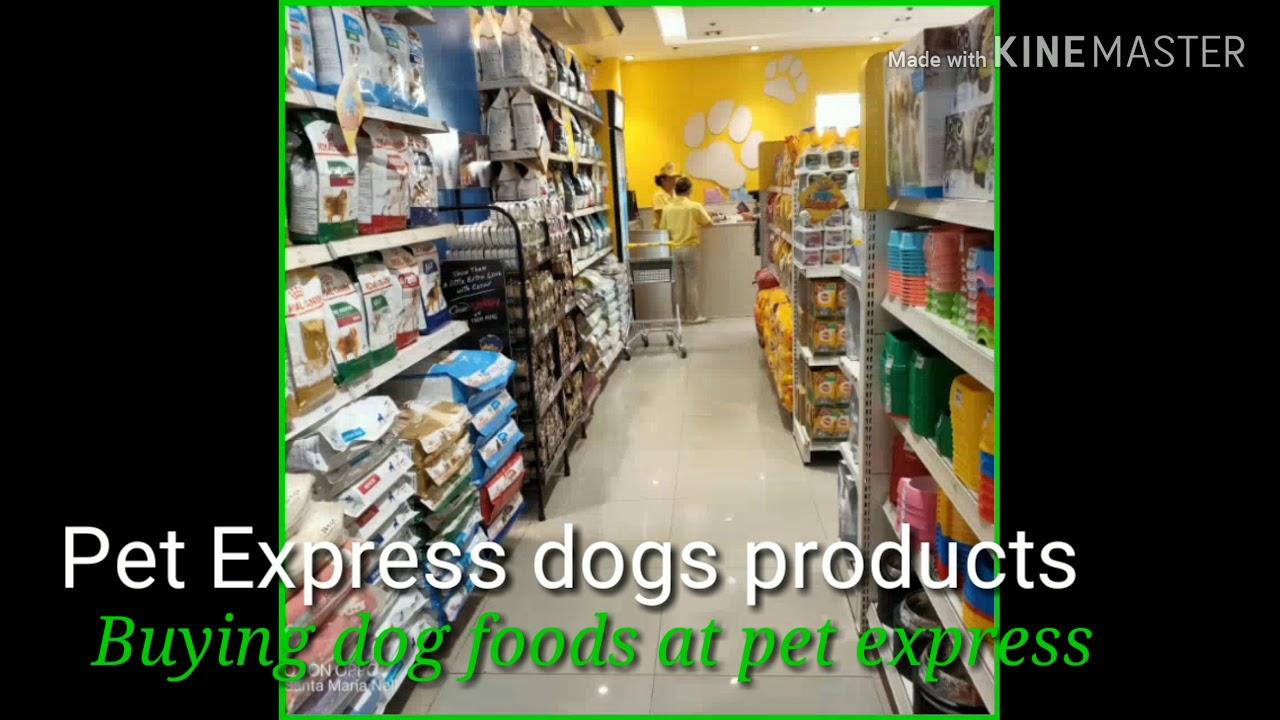 Video 179 : Buying dog foods at pet express sm north edsa