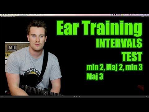 Ear Training: Intervals Test: minor 2 Major 2 minor 3 Major 3