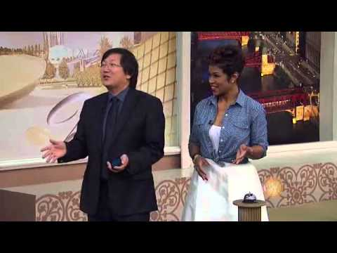 Masi Oka and Japanese Students from Yoshimoto do improv on Windy City Live