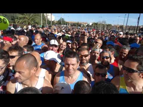 Media maraton cartagena 2016