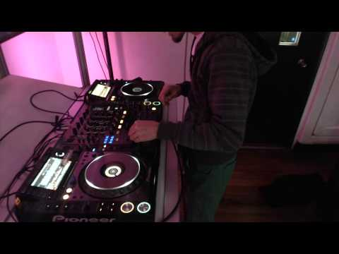 Ricardo Jimenez - Set Electro House @ Dj School Chile