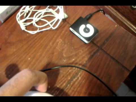 2GB clip Mp3 Player Black