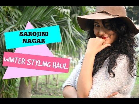 SAROJINI NAGAR : WINTER STYLING + TRY ON HAUL | StyleMeUpWithSakshi