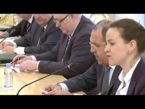 Встреча С.В.Лаврова  и И.Якубу | The meeting of S.Lavrov and I.Yakubu