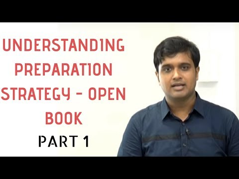 Understanding Preparation Strategy for Open Book Examination (Part 1) by CS Mohit Shaw