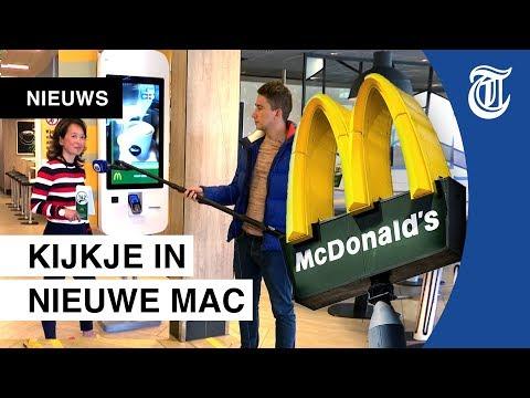Zo eet jij straks bij McDonald's