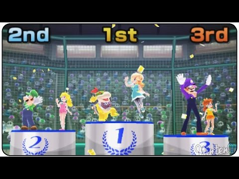 Mario Sports Superstars (3DS) - Baseball - Mushroom Cup