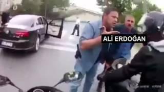 Erdoğan'ın Korumalarını Görünce 'abi' çeken Motorcular