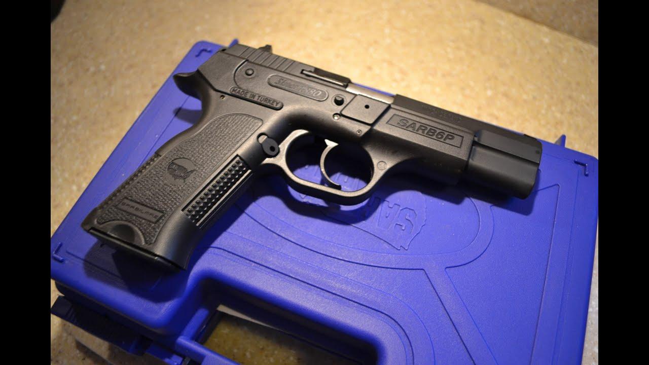 SAR B6P 9mm Semi Auto Pistol
