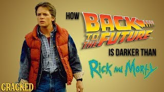 How Back To The Future is Darker Than Rick And Morty thumbnail