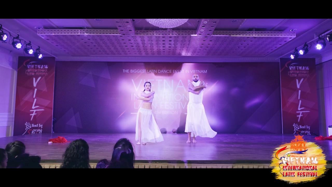 NEW SHOW   Albir Rojas & Ana (Spain) - Saturday Show   Vietnam Int'l Latin Festival 2019