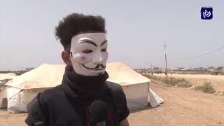 """شهداء وعشرات الاصابات في جمعة """"الشهداء والاسرى"""" في غزة - (20-4-2018)"""