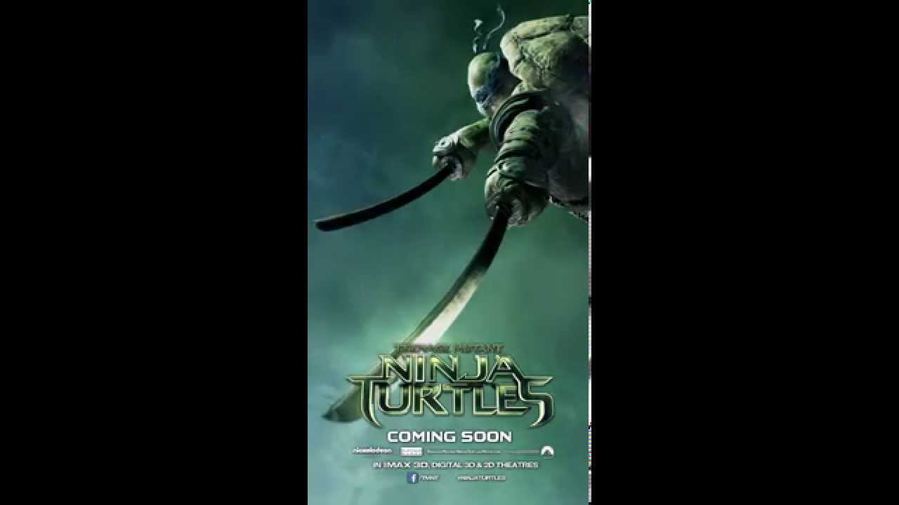 Tmnt Movie Leonardo Motion Poster Youtube