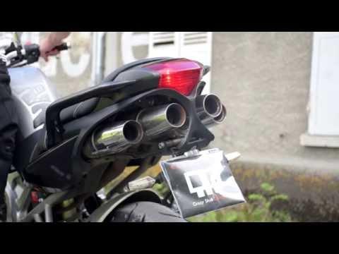 Yamaha FZ6 Laser Exhaust
