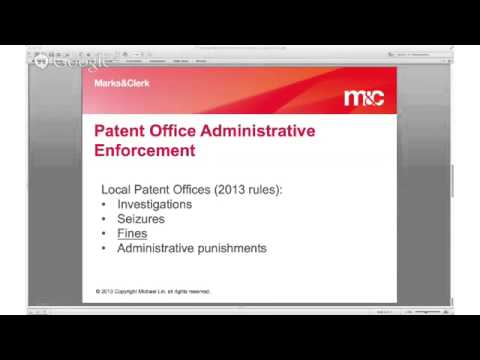 Patent Enforcement in China