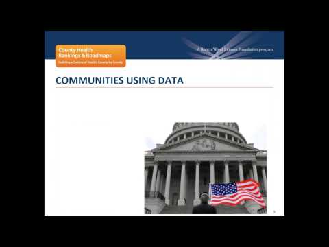 Webinar: Leveraging the Rankings for Community Action Feb. 21, 2017