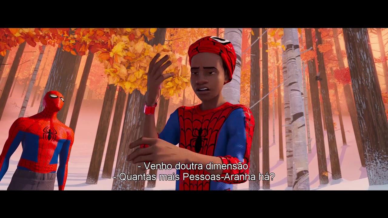 HOMEM-ARANHA: NO UNIVERSO ARANHA - (Trailer 2 legendado Portugal)