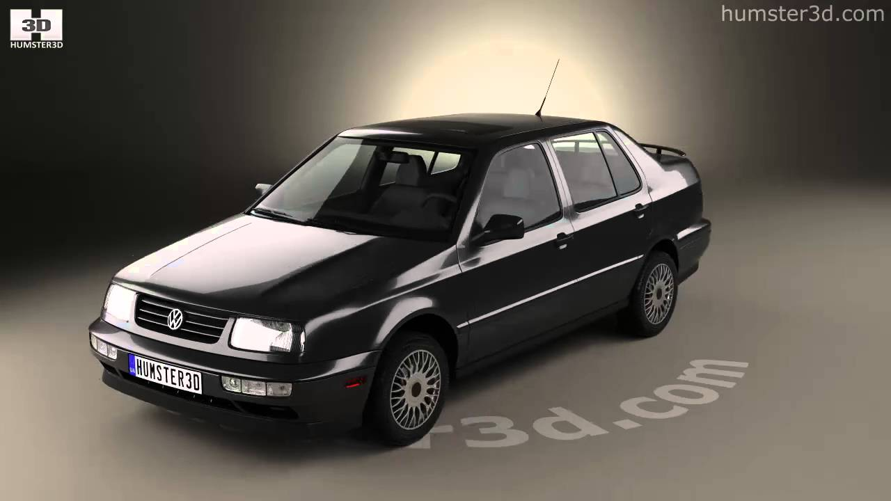 volkswagen jetta 1992 3d model by humster3d com [ 1280 x 720 Pixel ]