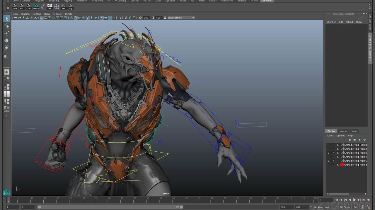 Creature Rigging for Production | The Gnomon Workshop