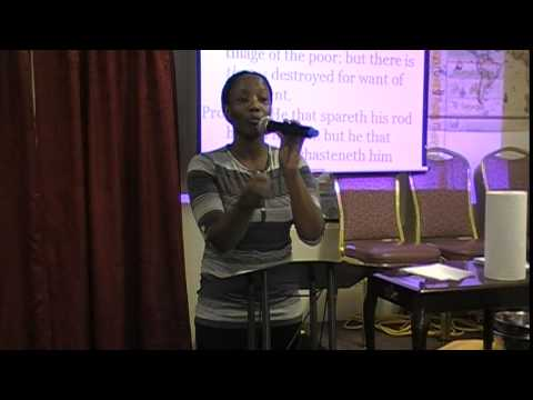 Sunday, March 30th, 2014  Sis  Roshane Rowe  Harvesting and Fasting Part 2