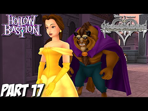 Kingdom Hearts Re: Chain of Memories Gameplay Walkthrough Part 17 - Hollow Bastion - PS3