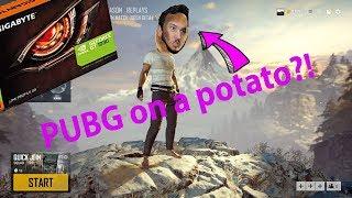 PUBG on a potato graphics card?! GTX 1030 test