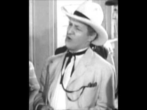Fred Allen and Senator Claghorn (Kenny Delmar) Fred Allen radio show 1940s