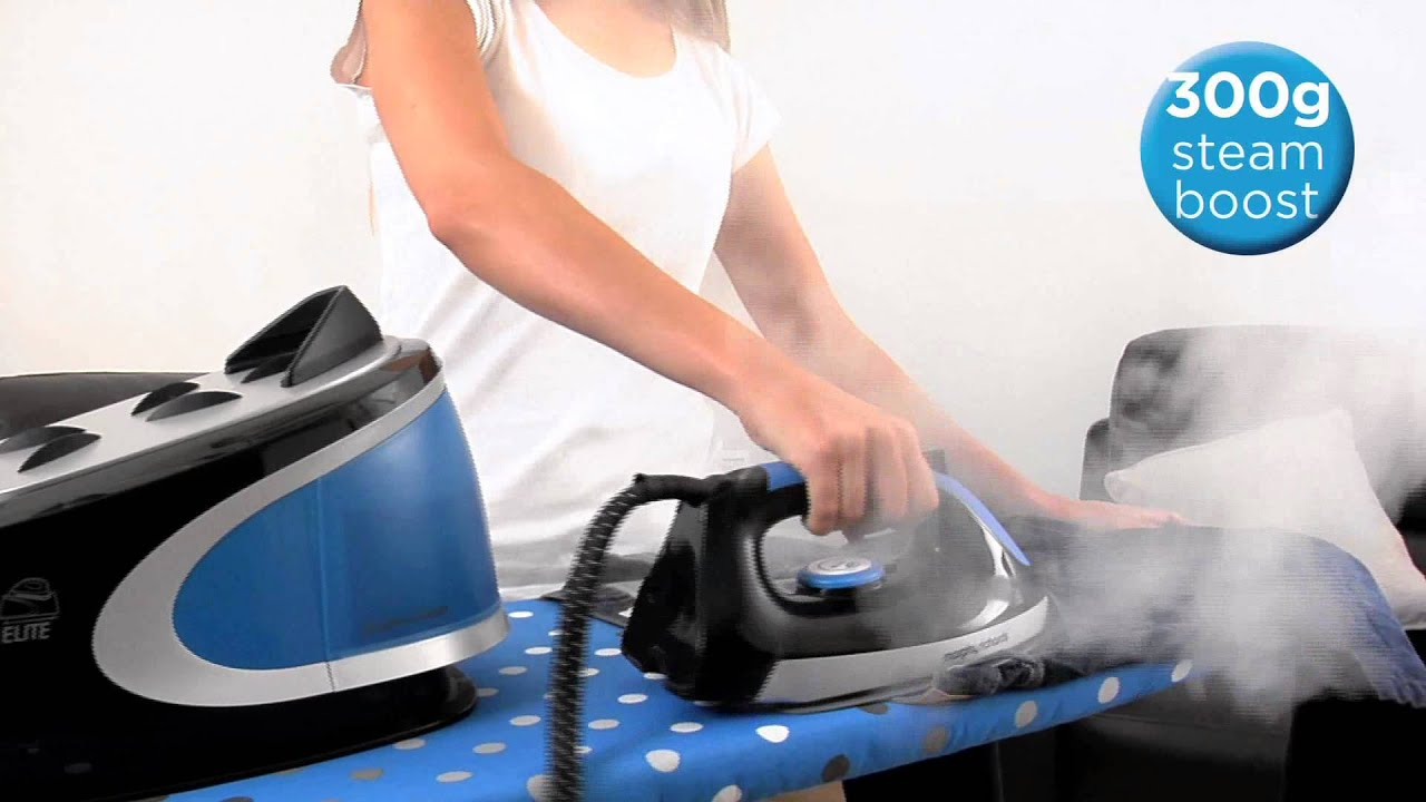 Morphy Richards Power Steam Elite 2400W Pressurised Steam