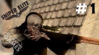 Sniper Elite V2 #1 - Boom Headshot Orgazmus Rex (Roj-Playing Games!) 18+