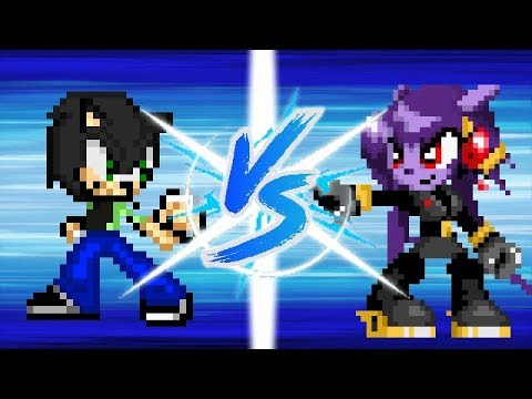 Jack Vs Amethia (Lilac Black) (Pivot Sprites Battle)