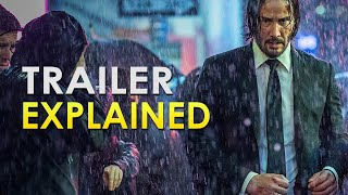 John Wick: Chapter 3: Parabellum: Official Trailer Explained | Everything You Missed