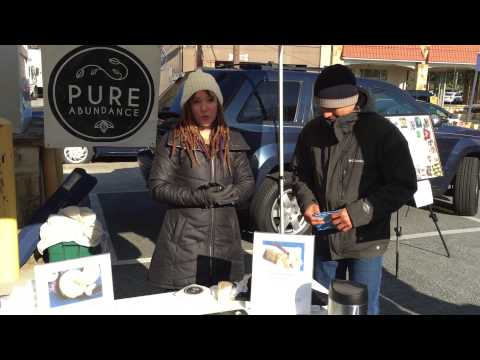 Morningside Farmers Market: Introducing Pure Abundance vegan cheese